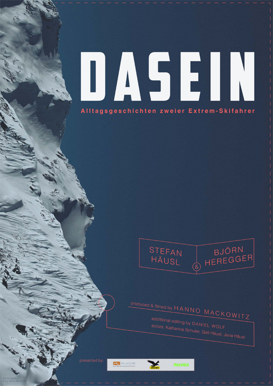 Dasein - Alltagsgeschichten zweier Extremskifahrer, Mackowitz, Häusl, Heregger, Freeride, Film, Arlberg