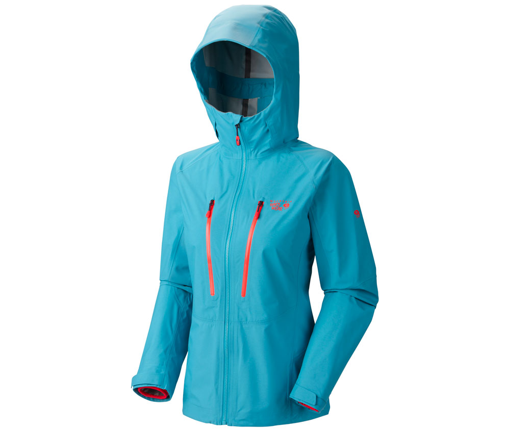 Mountain Hardwear Hardshell Jacke Seraction Damen Geyser