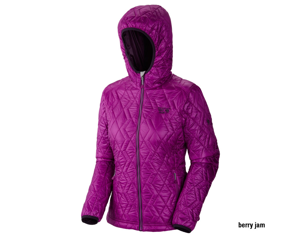 Thermostatic Insulator Jacket Mountain Hardwear Damen Hooded ZOkXuPi