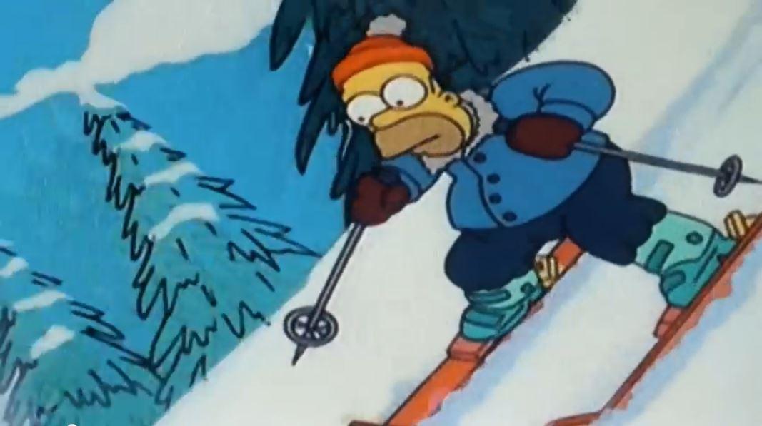 Wintervorbereitung, Freeride, erst Tag im Schnee, Homer