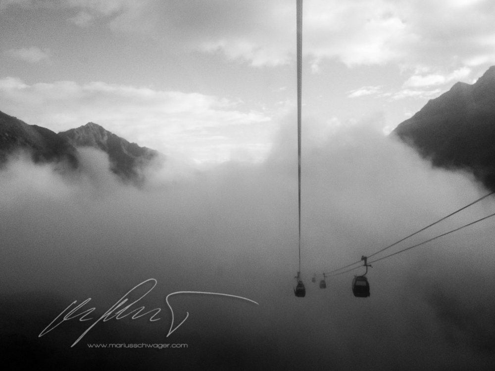 Stubaier Gletscher Saisonstart Skipiste