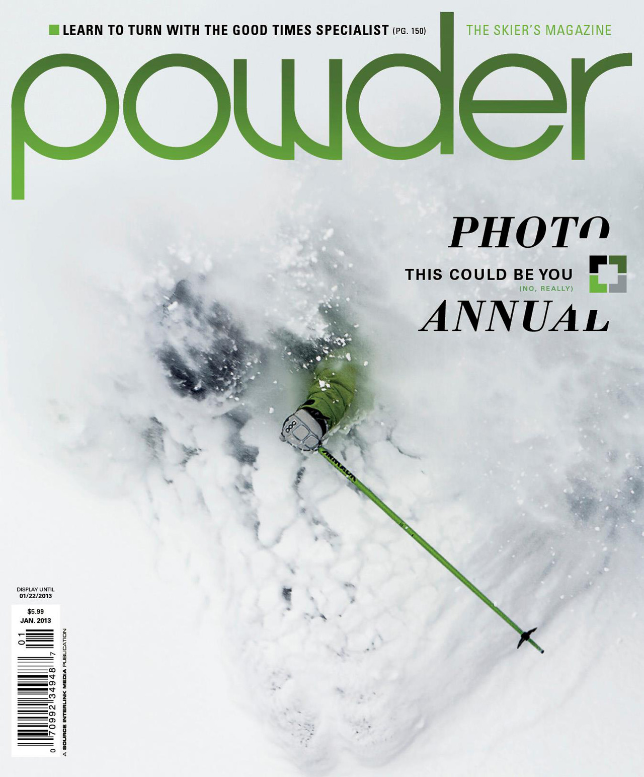 Jim Harris Cover Powder Magazine