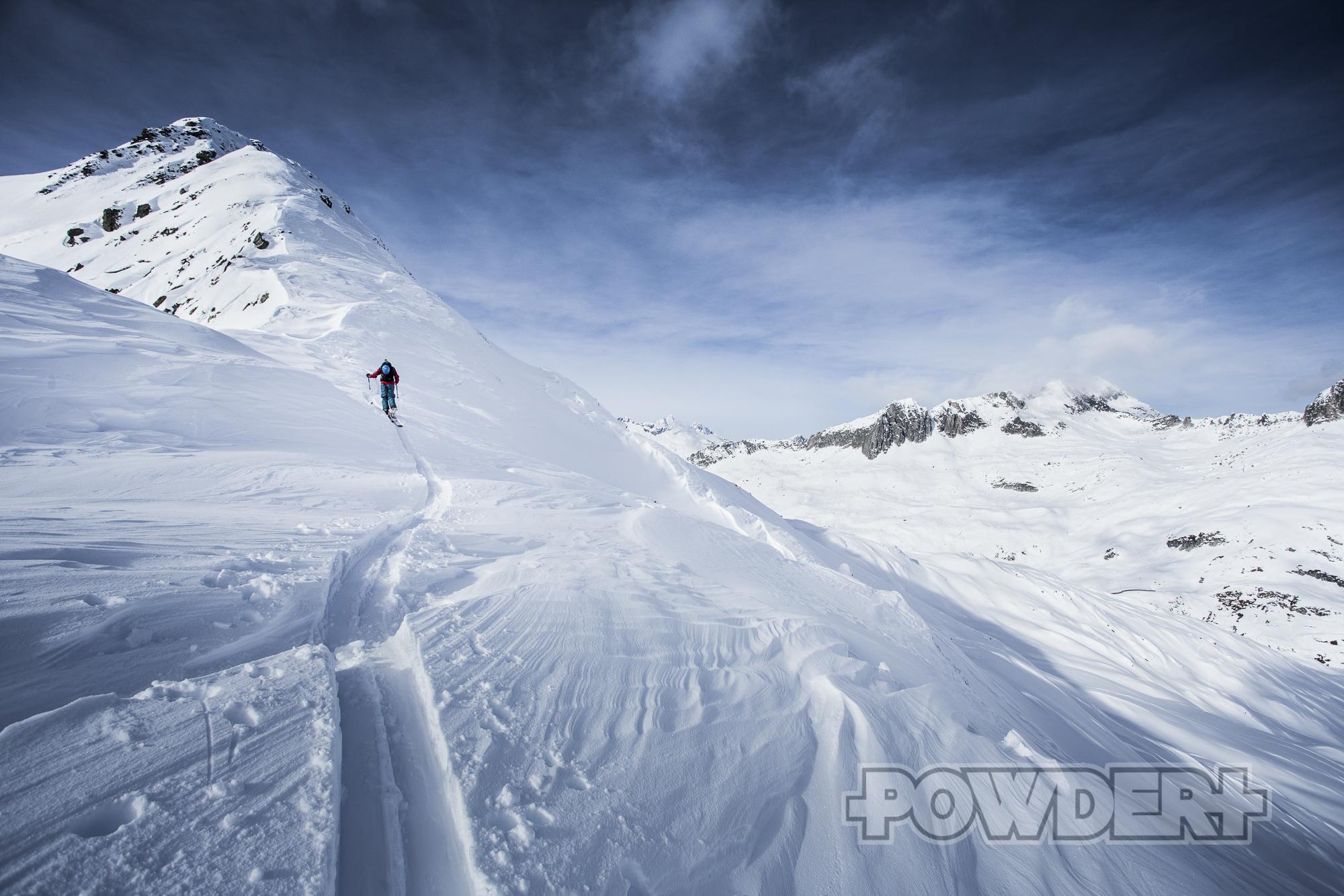 Skitour Oberalppass Andermatt Der Brecher
