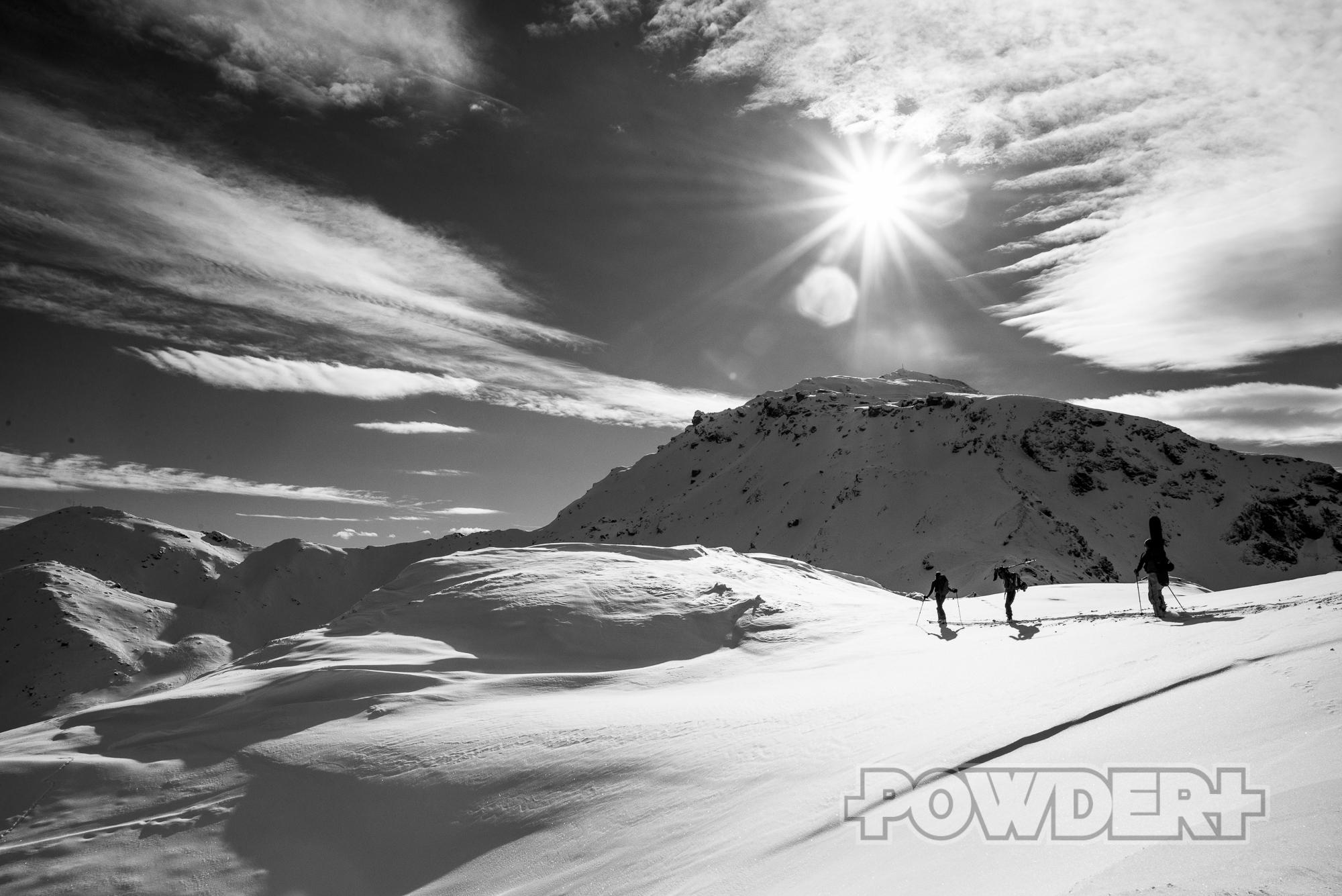 Skitour, Hochfügen, Sonntagsköpfl, LWS 3, LWD Tirol, Lawine Ostwand, Hochzillertal, Powder Report