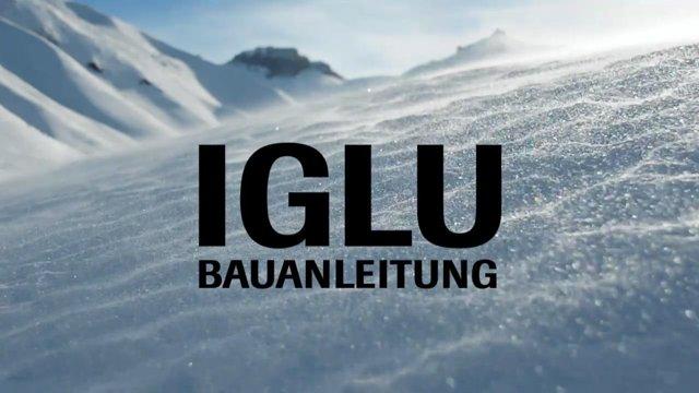Iglu bauen, Schneehöhle, Schneeübernachtung