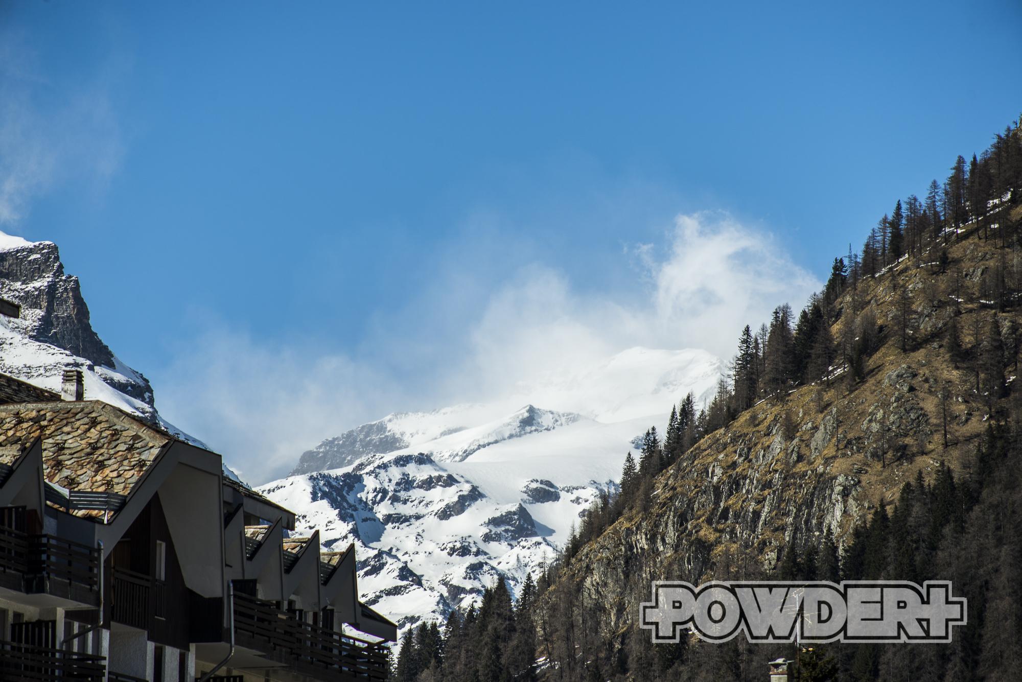 freeride, powder report, monte rosa, gressoney