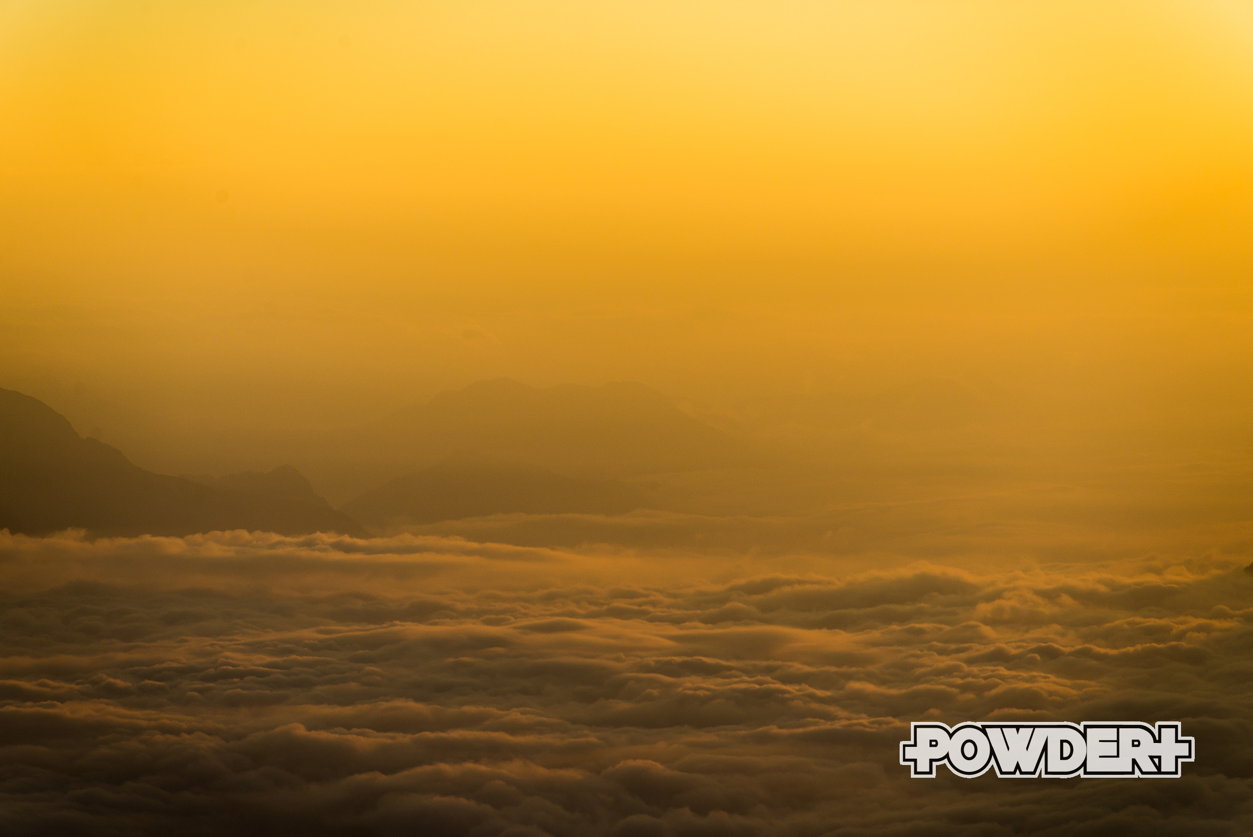 powderplus, wallpaper, aussicht, inntal, Nebelmeer, fog, sunrise, Sonnenaufgang
