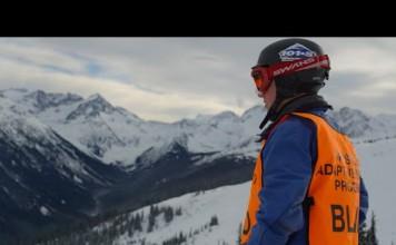 The Winter Within, blinder skifahrer, Donovan Tildesley