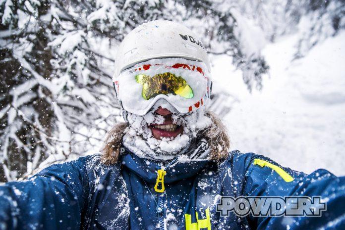 bergtroll, epic, pow, powderday, schnee im gesicht, best day ever