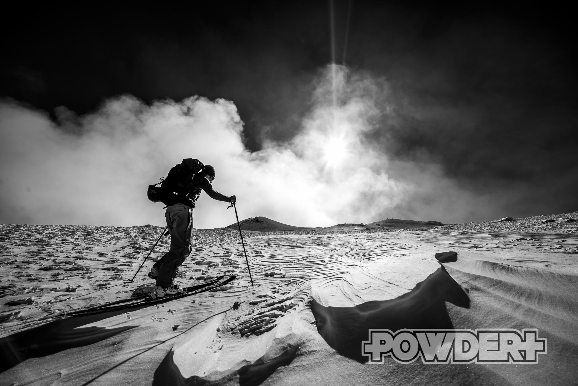 Freeride Skitour �tna, ätna, sizilien, freeride, skitour, skitouring, schwarze materie, skitour ätna,etna, freeride ätna